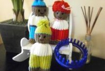 Loom Knitting / All of our favorite loom knitting tutorials, tips and videos / by Green Gables Artisans Co-op
