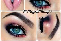 Make Up Inspiration & Tips / Make up tips and inspiration.