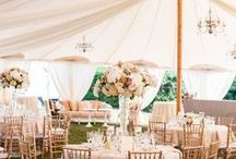 Outdoor Weddings / We specialize in luxurious outdoor weddings, with our beautiful sailcloth tents, tent flooring, and tent lighting. Planning a wedding in your own backyard or at a scenic venue? This is the place for outdoor inspiration. Happy pinning!