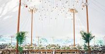 Wedding Tent Lighting / Lighting is an important factor in your wedding's overall style. From romantic crystal chandeliers to artfully arranged hanging lanterns to cafe-style bistro strings, there are so many creative options for tent lighting, and so many wonderful results.