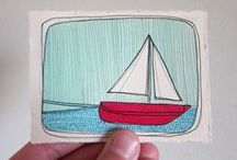 anchors away / by Catina jane Gray