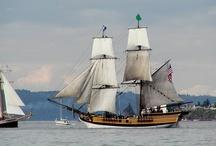 Ships , Boats things that float / Tall Ships festival photos 2005 Tacoma WA . Foss waterway .