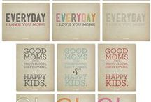 DIY - Stationery & Printables / This is where I save fun (and mostly free) printables that I stumble upon on the internet.