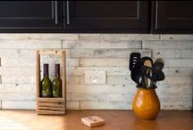 Wood Tile at H+E / House+Earth offers a reclaimed wood tile - available in varying formats, and 3 different finishes!