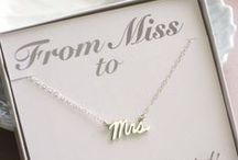 From Miss to MRS<3 / So much adorable MRS items that I want to order! I would wear this kind of stuff all the time :) / by Anna Marie