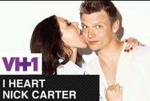 """I Heart Nick Carter - The Locker <3 / We're fangirling like CRAZY about Nick Carter on VH1. We challenge YOU to create your own I Heart Nick Carter """"Locker"""" as well!   / by VH1"""