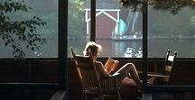 Outdoor Reading Nook / Slow Travel and read at the most amazing locations and outdoor reading nooks