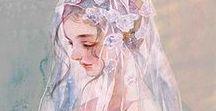 I want to become his bride / Trong vòng tay anh mọi đau đớn đều tan biến !