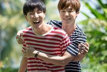 Jihope || HopeMin / Lol! My 2 Bangtan hoes together such shipableness ❤️