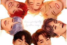 BTS Fanart / ARMYs with talent