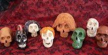 Lenore62 's Skulls Art / voici mes Créations de Vanités en Céramique...
