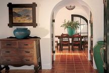 Interior House Ideas / We bought our dream house a few years ago and are trying to decorate it slowly. My husband is from the south and I grew up everywhere so we are melding everything with the Southwest style of Tucson. Wish us luck! / by Heather Adams