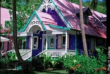 Caribbean Houses - Cottages / Caribbean Beach Houses - Cottages - Chattels  / by Caribbean Sunshine
