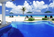 Pool Party ~ Caribbean / Caribbean Pools ~ Infinity Pools ~ Party ~ SwimWear ~ SunWear ~ Cocktails ~ #poolparty / by Caribbean Sunshine