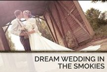 Dream Weddings in the Smokies / The beautiful scenery of the Smoky Mountains speaks for itself, but there are many other benefits of having an in-cabin wedding in one of Timber Tops' Gatlinburg or Pigeon Forge cabin rentals. / by Timber Tops Luxury Cabin Rentals