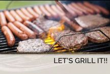 Let's Grill It!!!! / In addition to fully equipped kitchens, many of our Gatlinburg TN cabins for rent come with outdoor grills.  / by Timber Tops Luxury Cabin Rentals