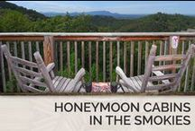 Honeymoon Cabins in the Smokies / We promise you will not be disappointed by our selection of relaxing 1 bedroom cabins in Pigeon Forge and Gatlinburg. / by Timber Tops Luxury Cabin Rentals