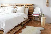 pallet, wood chest, shutter