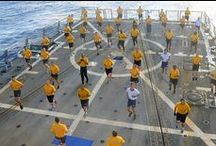 Navy Fitness / Protecting and defending America takes a certain kind of strength. Check out how our Sailors stay fit!  / by U.S. Navy