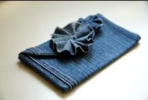 All about Denim / Up-cycled denim.