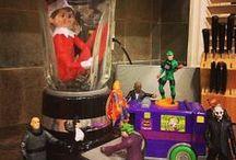 ➵ chip (our Christmas elf) / elf on the shelf ieas