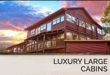 Luxury Large Cabins / You won't find cabins more luxurious than these. We offer the most beautiful cabin in the Smoky Mountains. / by Timber Tops Luxury Cabin Rentals