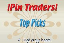 !Pin Traders! -Top Picks- A juried group board hosted by www.Group2020.com / BOARD RULES: For every pin you add to the board you must like and re-pin the item that was pinned before yours to one of your other boards, 8 pin a day limit, No dupes in the same day, Items must be for sale and include link, Pin only your own items, No spam, nudity or vulgarity, No politics, Only G2020 Board Admin can add new pinners, To apply for a Guest Pinner invitation please e-mail your shop and pinterest links to Group2020 Admin at: group.2020@yahoo.com Thank you and Happy Pinning!
