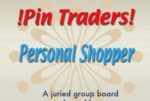 !Pin Traders! -Personal Shopper- A juried group board hosted by www.Group2020.com / BOARD RULES: For every pin you add to the board you must like and re-pin the item that was pinned before yours to one of your other boards, 8 pin a day limit, No dupes in the same day, Items must be for sale and include link, Pin only your own items, No spam, nudity or vulgarity, No politics, Only G2020 Board Admin can add new pinners, To apply for a Guest Pinner invitation please e-mail your shop and pinterest links to Group2020 Admin at: group.2020@yahoo.com Thank you and Happy Pinning!