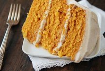 Food - Cakes - Desserts / by Cathy Dods Wood