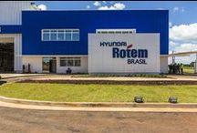 A|W - Hyundai Rotem Brasil / Planta de 30.000m² em Araraquara/SP para a fabricação de sistemas ferroviários - 2015