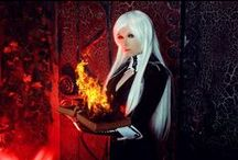 Darksia Sanilas / cosplay, photo, model, Darksia Sanilas, anime, art