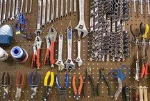 Werkzeugwand / Werkbank