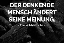 Schöne Zitate & Aphorismen / Die besten Aphorismen & schönsten Zitate bekannter Persönlichkeiten, Autoren und Künstler. Zitate Deutsch