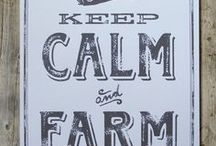 Make Hay When The Sun Shines, Quotes | Farm On! / Breathe deep and harvest hard!
