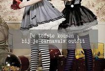 Carnaval Toffe Kousen / Bijzondere panty's en kousen bij je carnavalsoutfit