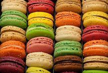 Food Art / A rainbow of food.