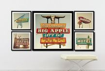 Vintage Road Signs / All things neon and Route 66