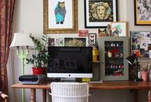 Home Offices, Laundry Rooms, Closets and Storage / by Curtain Lady Design