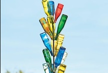 "Bottle Trees / I've always wanted a bottle tree. Maybe it's time to ""grow"" one! / by Val Gal"