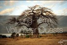 Long Term Volunteer Quests / The #locations and #sites that we send our #volunteers to for long term (6-12 months) projects. Language fluency is not required, but basic knowledge of the local language is helpful. As the ICYE United States and Canada partner, United Planet can only send citizens and residents of these countries.