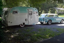 vintage campers / by Lorre Van Tress