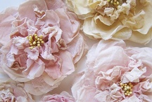 Craft Ideas - Fabric Flowers / by Karen Thompson