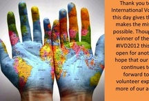 International Volunteer Day Pinterest Contest / We held an #international volunteer day Pinterest Contest for our #UnitedPlanet team. These are the results!   If you're interested in #volunteering with us, visit our webpage on http://www.unitedplanet.org.