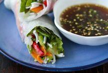 FOOD *Spring rolls*