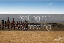 Packing for Volunteering / Travel tips and packing hints for travelling abroad with United Planet! If you're interested in #volunteering with us, visit our webpage on http://www.unitedplanet.org.