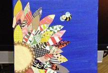 Artsy Tartsy - Mixed Media / by Carla Androy