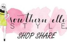 Southern Elle Style Shop Share / Every Friday I feature a different small business or shop! This is a board dedicated to sharing each shop.