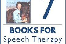 **Books for Speech & Language** / Book suggestions for you to use in speech therapy sessions! :)