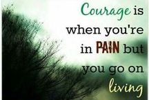 """Living with Chronic Pain / """"And God will wipe away every tear from their eyes; there shall be no more death, nor sorrow, nor crying. There shall be no more pain, for the former things have passed away."""" Rev 21:4 (NJKV)"""