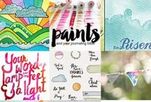 """Scrapbooking/Journaling Your Faith / """"Let this be written for a future generation that a people not yet created may praise the Lord"""" ~ Psalm 102:18"""